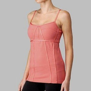LULULEMON | Alignment Tank Top Coral | Sz. 8